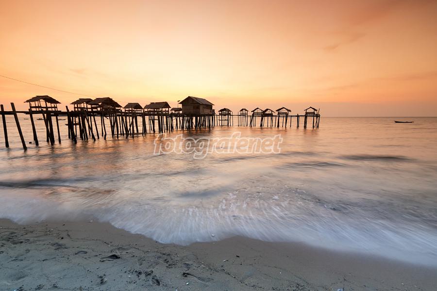 Fotografer Net Galeri Sunset Di Tanjung Belandang